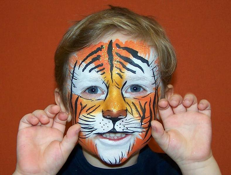 Kinderschminken Tiger